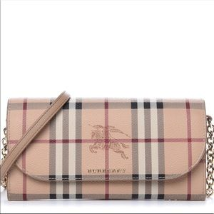 New with Tag Burberry Haymarket Wallet On …